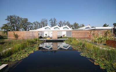 Wunderschöne Teichanlage