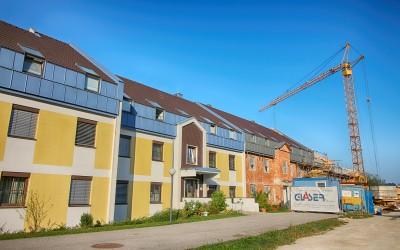 Die fertige Wohnhausanlage in Waidhofen an der Ybbs.