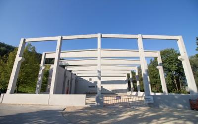 Errichtung einer Lagerhalle in Ybbsitz